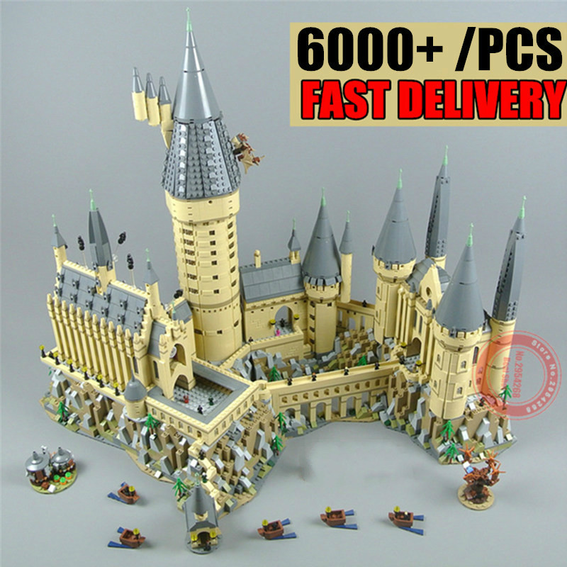 New MOC Castle House Fantastic Beasts Fit Legoings Technic Power Functions Figures Potter Building Block Brick Toy Gift Birthday 26