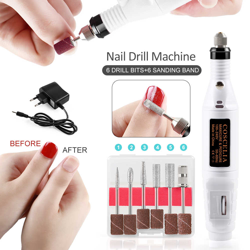 Manicure Set Acryl Nail Kit Borstels Voor Manicure Gel Nagellak Kit UV LED Lamp Voor Nagel UV Gel polish Alle Voor Manicure