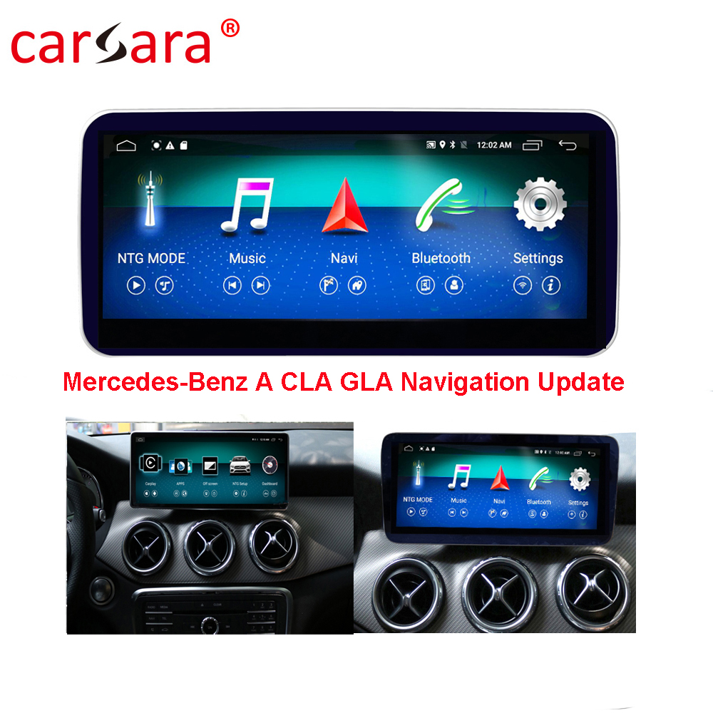 <font><b>W176</b></font> Car GPS <font><b>Navigation</b></font> Head Unit for <font><b>Mercedes</b></font> CLA/GLA/A Class Smart Radio Stereo 10.25 Big Screen for Ben z 13-17 Multimedia image