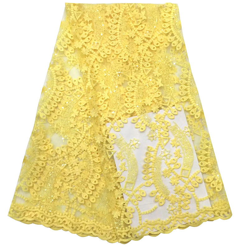 Free Shipping!French Tulle Lace Fabric With 2020 High Quality African Lace Fabric For Women Dress Y593