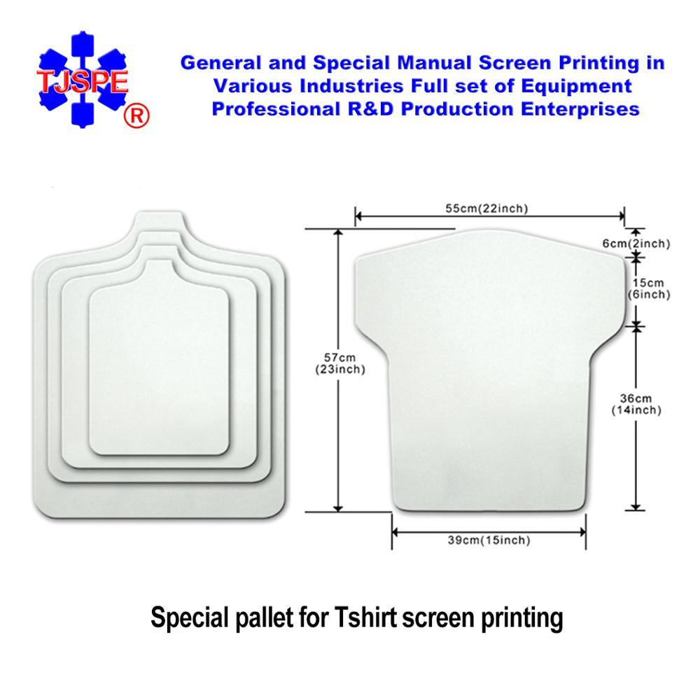 45*55cm Tshirt Pallet Bedplate Screen Printing Plate Shirtboard