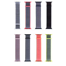 Replacement Watch Strap For Apple Watch1/2/3/4 Sport Nylon Smart Loopback Velcro Universal Band 38mm/42mm 1sh