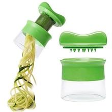 Spiral Rotating Cut Vegetable Grater Kitchen Tool Accessories Cucumber Carrot Chopper Multifunction Home Cutter Gadget