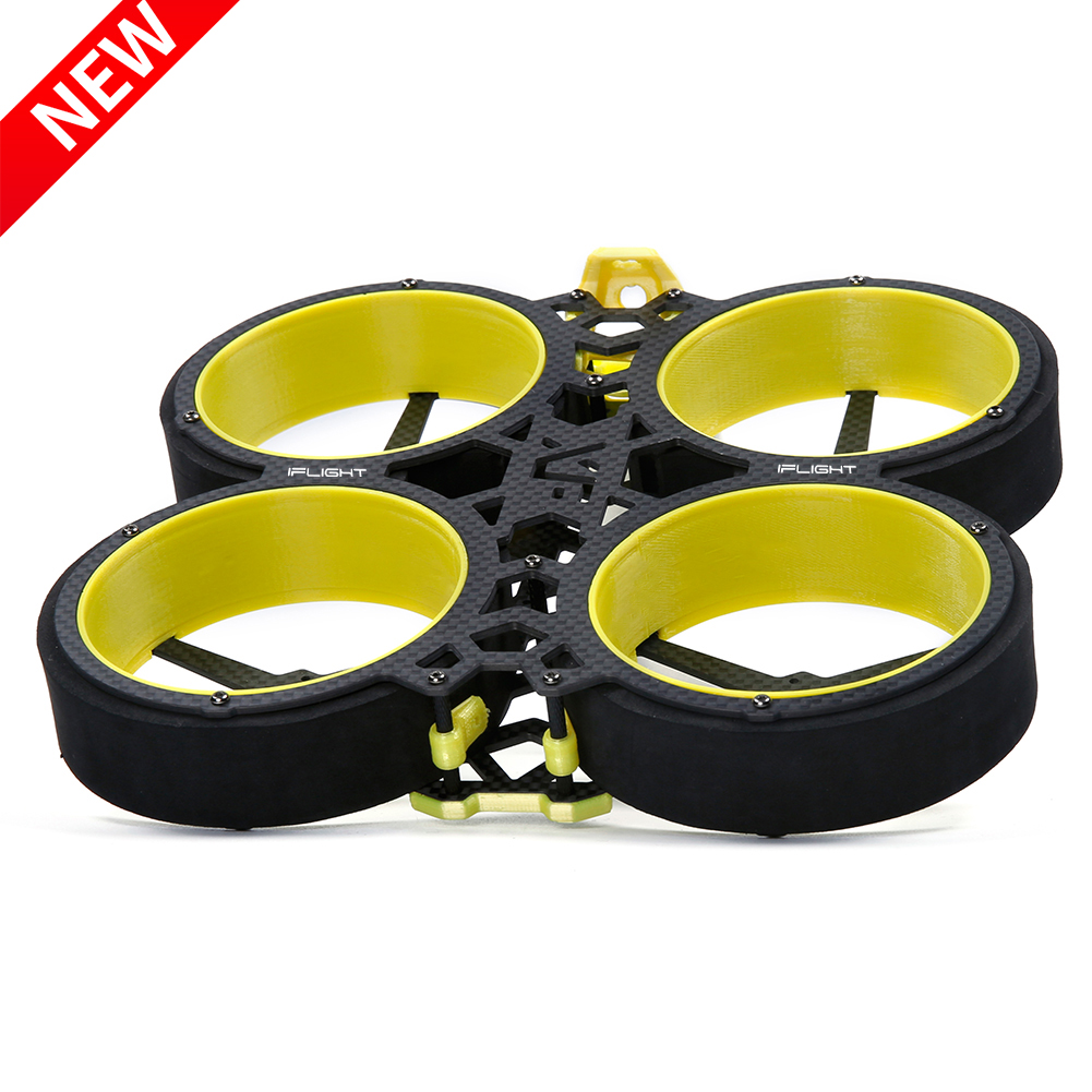 New IFlight BumbleBee CineWhoop 142mm FPV Frame Kit With 2mm Arm/propeller Guards Compatible 3inch Propeller For FPV Drone Part