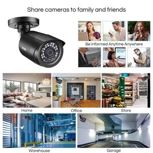 Image 4 - ZOSI 8CH CCTV מערכת H.265 + HD TVI DVR ערכת 8 1080p בית אבטחה עמיד למים חיצוני ראיית לילה מצלמה מעקב וידאו ערכת
