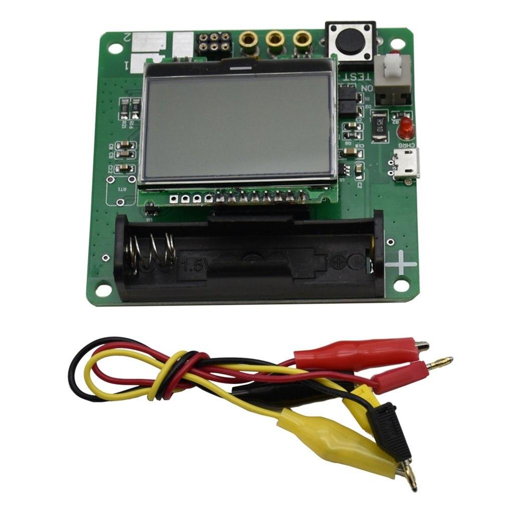 Indutor-capacitor esr 3.7v, medidor transistor lcr capacitância