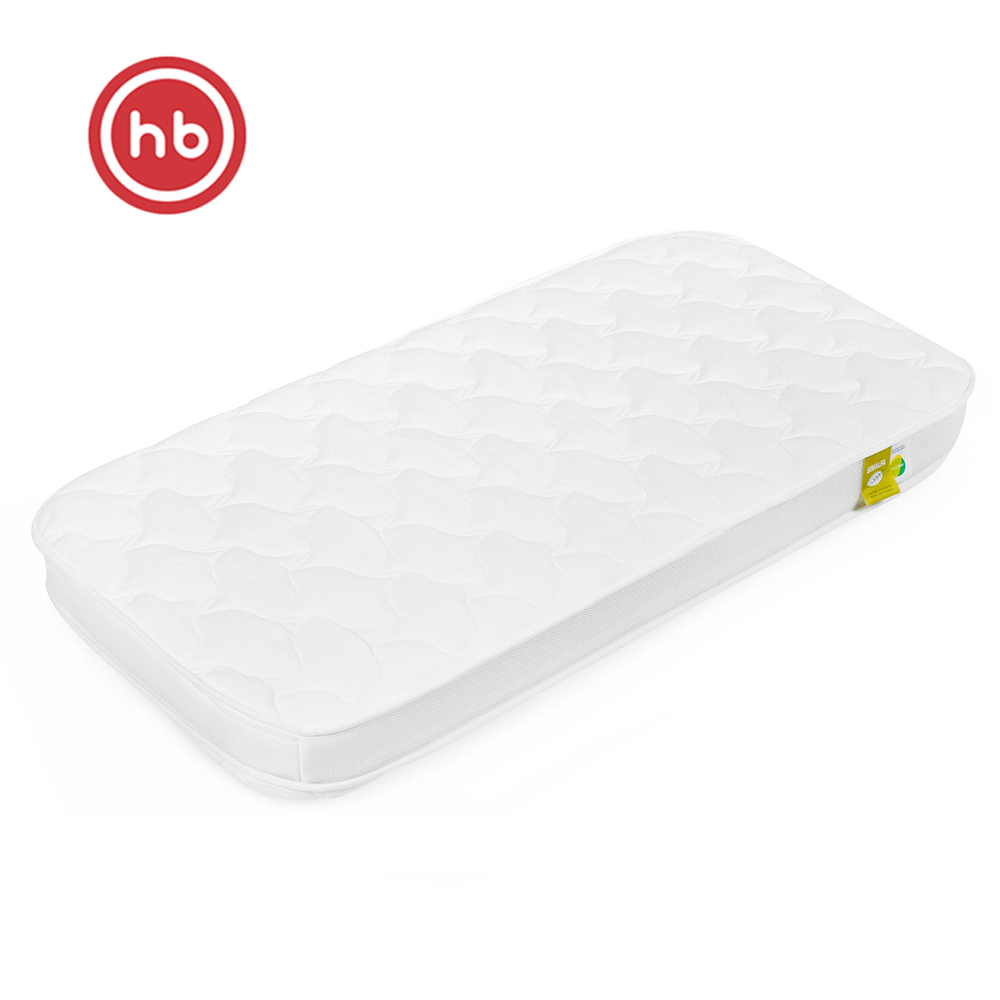 Mattresses Happy Baby 95011 Set Of Mattress In The Bed For Newborn Children Bedding For A Crib Coconut Coir, High Resilient Polyurethane Foam (brand HR30), Latex