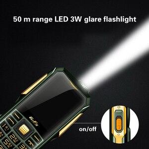 Image 5 - צבע LED 6800mAh כוח בנק GSM נייד טלפון קסם קול לפיד מהירות חיוג FM רדיו זול celular רוסית מקלדת טלפונים סלולרי
