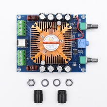 XH A372 TDA7850 Placa de amplificador de Audio estéreo para coche, amplificador de subwoofer de cuatro canales, 50W x 4, HIFI, para cine en casa