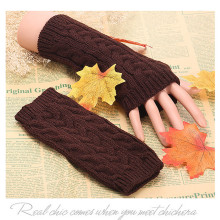 Best Selling Women Gloves Winter Warm Fingerless Gloves Crochet Thumbh