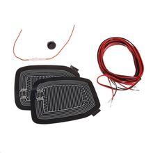 Mats Defogger-Pad Heater Universal New Warm Quick 12V Car-Side-Mirror-Glass