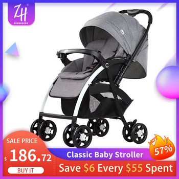 Baby Stroller Lightweight Foldable Portable Travel Baby Carriage High Quality Strollers Baby Car Baby Pushchair Carrinho De Debe 5 5kg high landscape baby stroller lightweight baby strollers foldable portable four wheel stroller baby carrier pushchair cart