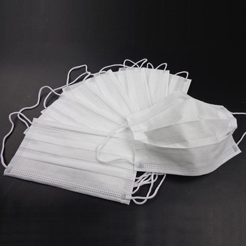 Disposable Face Mask Mouth Masks Anti Pm2.5 Safety Dust Masks Windproof 1/10/20/30/50pcs