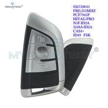 Remtekey 5FA011926-30 9367398-01 Smart key 3 button 315Mhz for BMW X5 X6 2014 2015 remotekey n5f id2a 4 button 434mhz smart key for bmw x5 x6 2014 2015 2016 2017