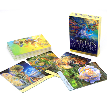 Natures Whispers Oracle Cards gorgeous imagination of artist Josephine Wall is brought to vibrant life, resulting in an oracle