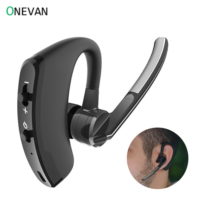 V8 Blutooth Earphone Wireless Stereo HD Mic Headphones Bluetooth Hands In Car Kit With Mic For V9 IPhone Samsung Huawei Phone