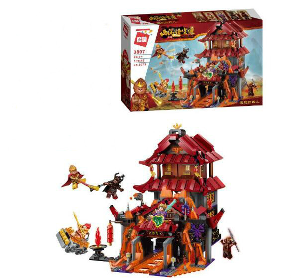 Wukong Biography Of Journey To The West E3807  1073P Models Building Kits Blocks Toys Hobby Hobbies For Boys Girls