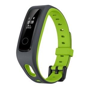 Image 5 - Oryginalny Huawei Honor Band 4 wersja do biegania inteligentna opaska na nadgarstek klamra do butów wpływ na ziemię profesjonalna porada snu Snap