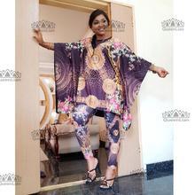 Африканский Дашики модный костюм(топ и брюки) супер эластичные вечерние Большие размеры для леди BFTZ04