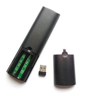 Image 5 - T2M 2,4G Gyro Air Maus 28 IR Lernen Google Stimme Suche für Android Smart TV Box PK T1M G10s g20s G30s G50s Fernbedienung
