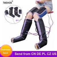 Masajeador eléctrico de compresión de aire para piernas, envoltura para piernas, para tobillos de pies, terapia de pantorrilla, alivia la fatiga, masaje, relajación del dolor
