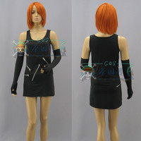 Anime DEATH NOTE Misa Amane Cosplay Costume Black Close Ftting Sexy Uniform Dress Female Party Role Play Clothing Custom Make