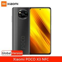Смартфон Xiaomi POCO X3 NFC, Snapdragon 732G, 6,67 дюйма, сенсорный дисплей, аккумулятор 5160 мАч, быстрая зарядка 33 Вт
