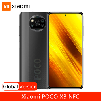 Global Version Xiaomi POCO X3 NFC Smartphone Snapdragon 732G 6.67'' Dotdisplay 64MP Quad Camera 5160mAh Battery 33W Fast Charge