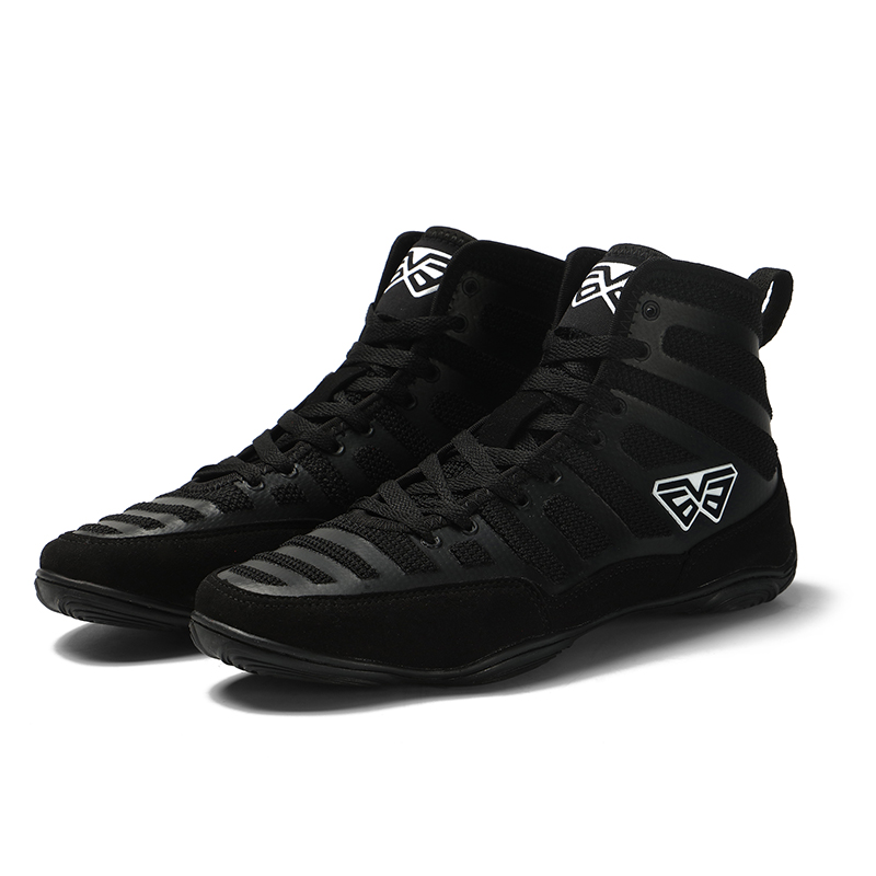 Athletic Wrestling Shoes For Men Training Shoes Cow Muscle Outsole Boots Sneakers Professional Boxing Sports Shoes