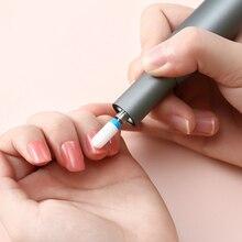 Новинка, 1 шт., мини машинка для полировки ногтей, портативный инструмент для маникюра, Уход за ногтями, инструмент для полировки ногтей