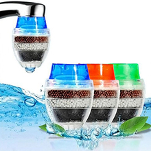 1Pc Mini Kitchen Carbon Faucet Tap Water Purifier Anti-Splash Water Saving Tap Nozzle Head Filter Water Clean Home Kitchen Tool
