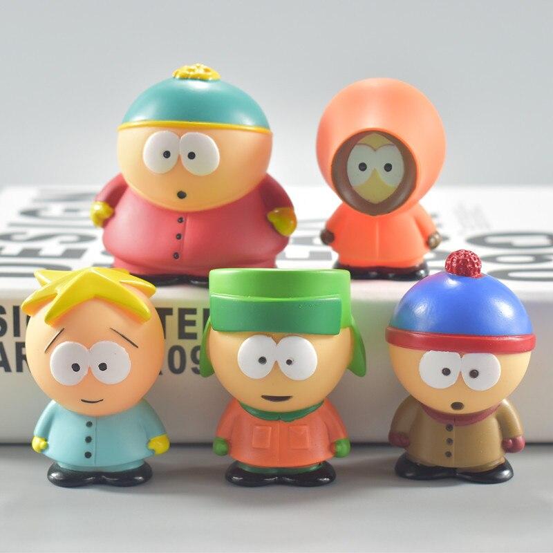 Boneco do sul do parque de 5 peças/set, boneco criativo de parque austrália presente para crianças decoração de casa moldel