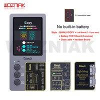 QIANLI iCopy Plus 2 1 pantalla LCD fotómetro para iPhone 11 pro max x XR XSMAX XS 8P 8 7P 7 vibración/Touch/fotosensible de reparación