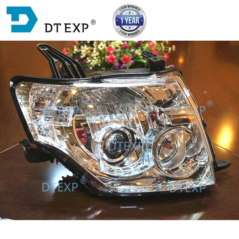 HID Headlight For Pajero V97 V93 V98 V87 Head Lamp Without Bulb No Ballast 8301a845 8301a046 Top Version Half Assy V95