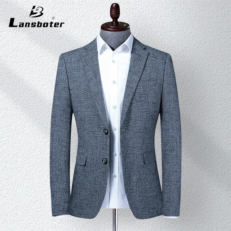 2020 Spring New Style Men's Top Grade Suit Slim Fit Business Men Young And Middle-aged Suit Casual Single West Coat Men Blazer