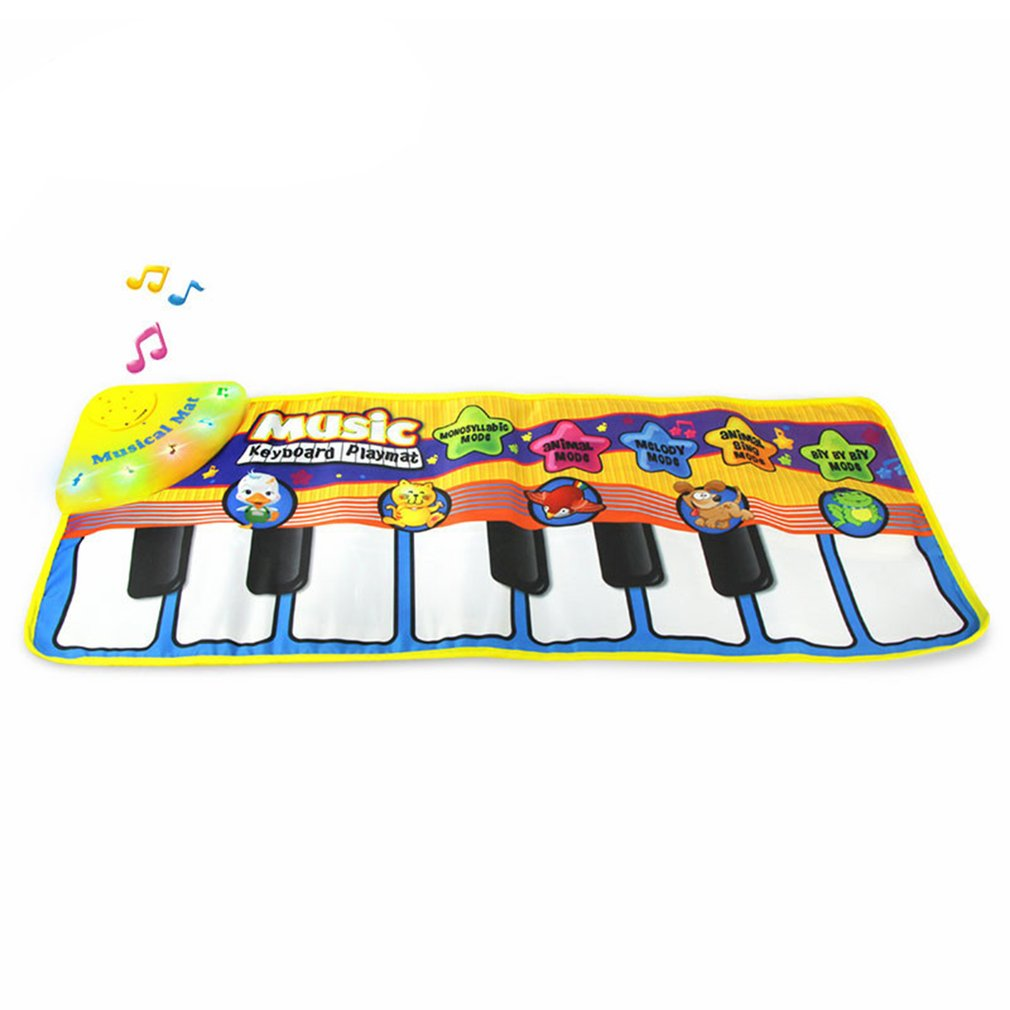 Musical Piano Mat Electronic Multi-Functional Toys for Kid Toddler Piano Mat