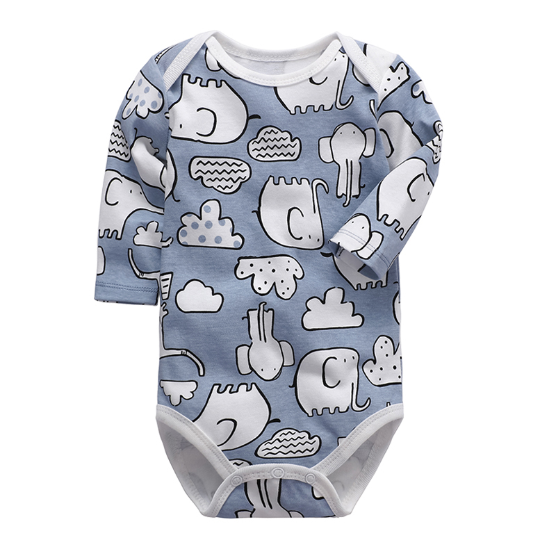 Baby Girls Boy Clothing Newborn Bodysuit Long Sleeve 100% Cotton 3-24 Months Infant Baby Boys Clothes