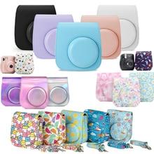 Shoulder Camera Protective Case Colorful Patterns Leather Camera Bag For Fujifilm Instax Polaroid Mini11 Mini 11 Case Handbags