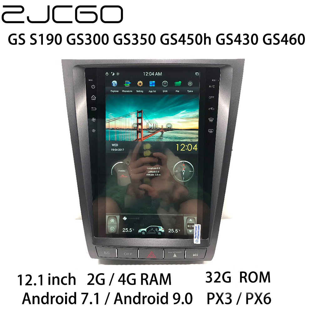 Car Multimedia Player Stereo GPS DVD Radio Navigation Android Screen Monitor for <font><b>Lexus</b></font> <font><b>GS</b></font> S190 GS300 GS350 GS450h GS430 GS460 image
