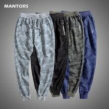 Men Casual Joggers Pants Cotton Sportswear Camouflage Sweatpants Mens 2020 Spring Autumn Men Trousers Breathable Gym Pants 5XL