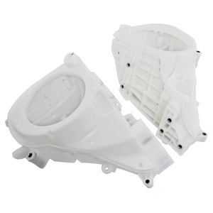 Image 4 - Motorcycle White Inner Fairing Speaker Covers For Harley Street Glide Electra Glide Ultra Limited Trike Glide 2014 Later