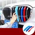 ABS передняя решетка вставки накладка 3 шт для BMW X5 G05 2020