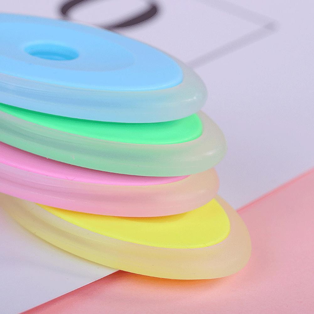 Erasable Pen Oval Non-toxic Eraser Children Kids Students Gift School Office Stationery