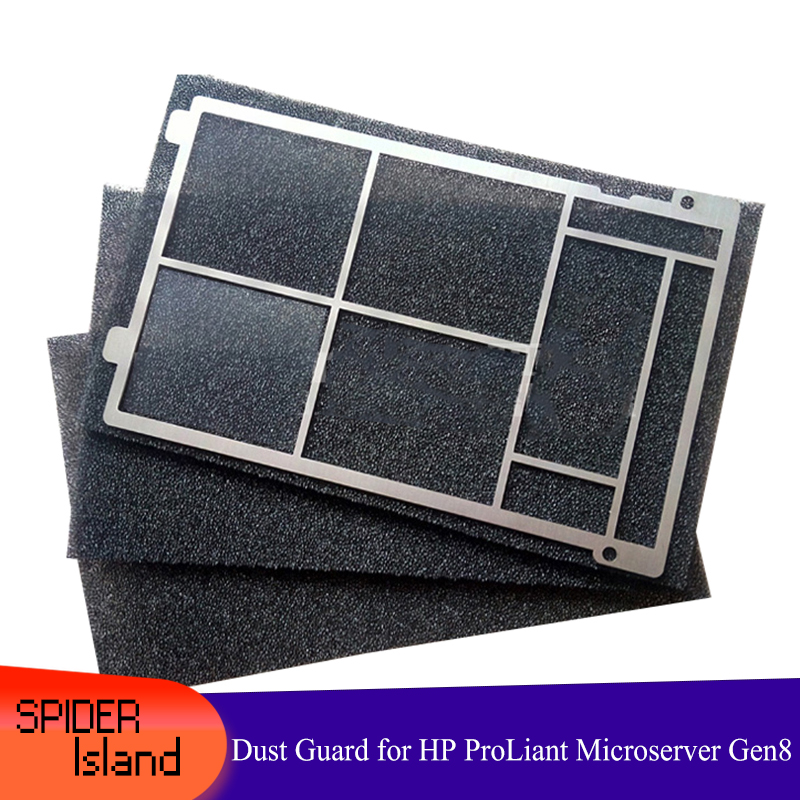 Plate Dust Guard Enhanced Special Dustproof Cotton Kit Heat Dissipation For HP ProLiant Microserver Gen8 Gen 8 Aluminum Steel