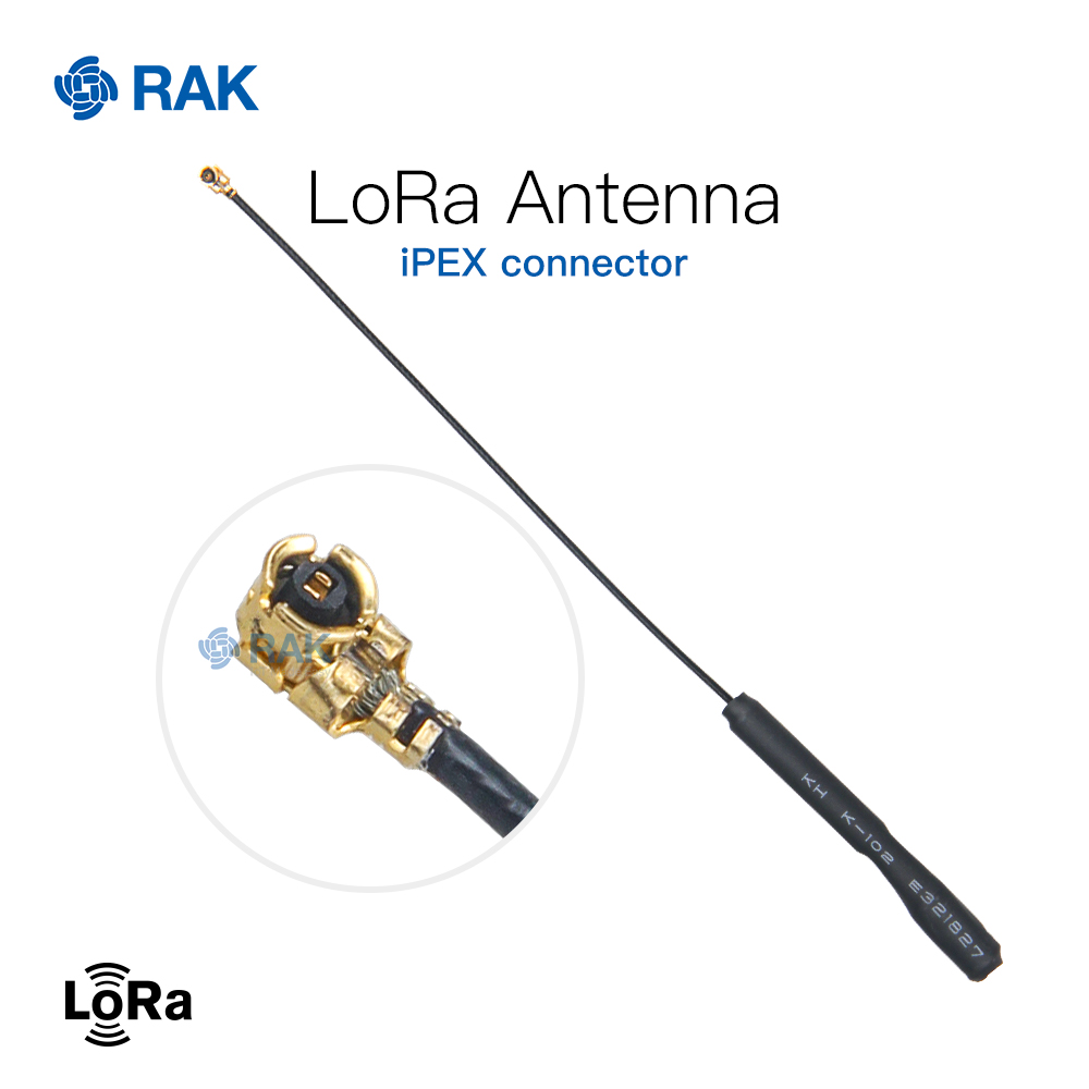 LoRa Antenna IPEX Connector 15.3cm Copper Tube Antenna. Supported 433MHz | 470MHz |868MHz |915MHz