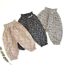 Clothing Floral-Pants Spring Girls Boys Kids Children's Autumn Anti-Mosquito