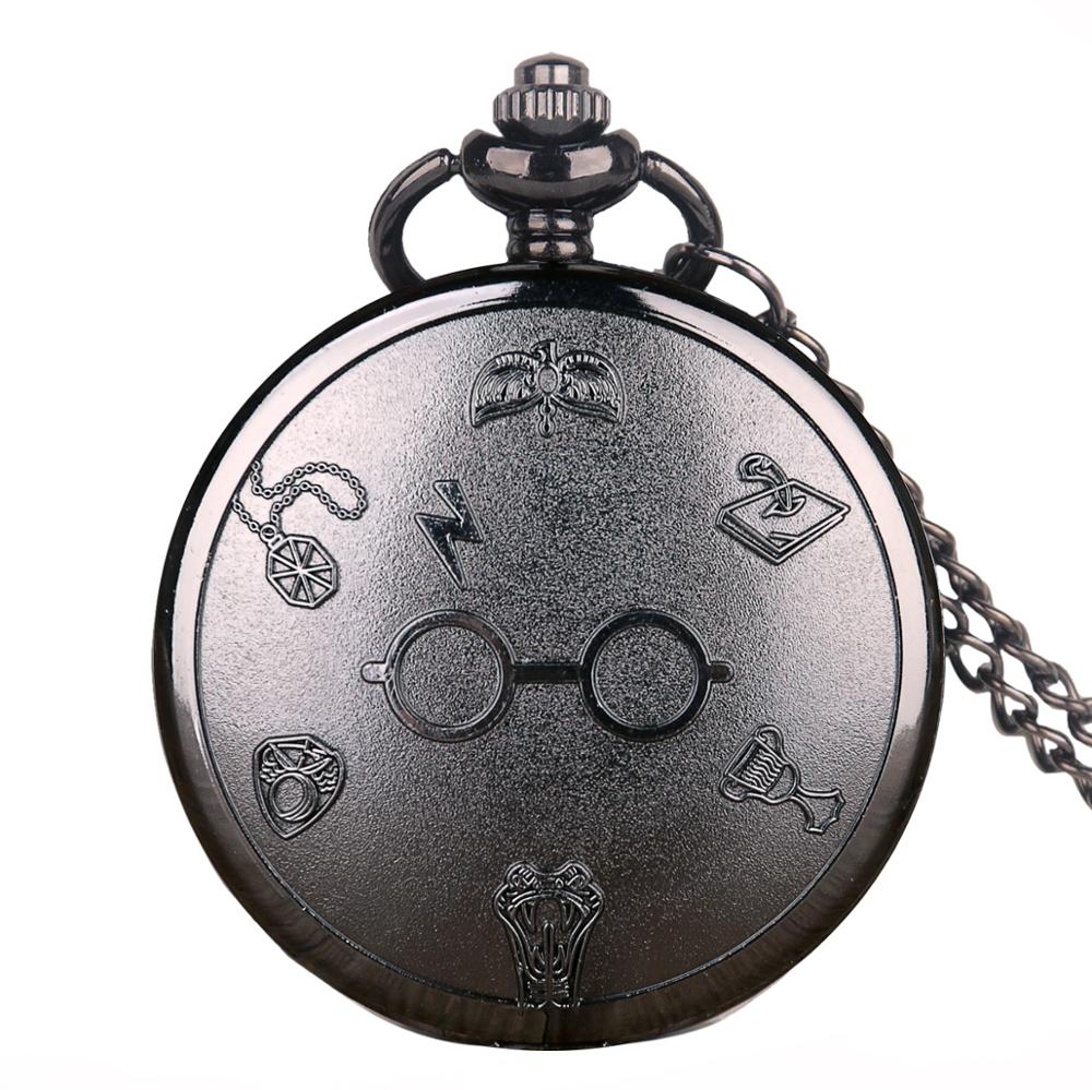 Male Quartz Pocket Watch Glasses Ball Pattern Exquisite Pendant Necklace Digital Numbers Watches With Fob Chain Gifts
