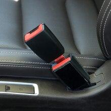 1PC Auto Sicherheit Gürtel Extender Sitz Gürtel Abdeckung Sitz Gürtel Polsterung Verlängerung Schnalle Stecker Schnalle Seatbelt Clip Auto Zubehör