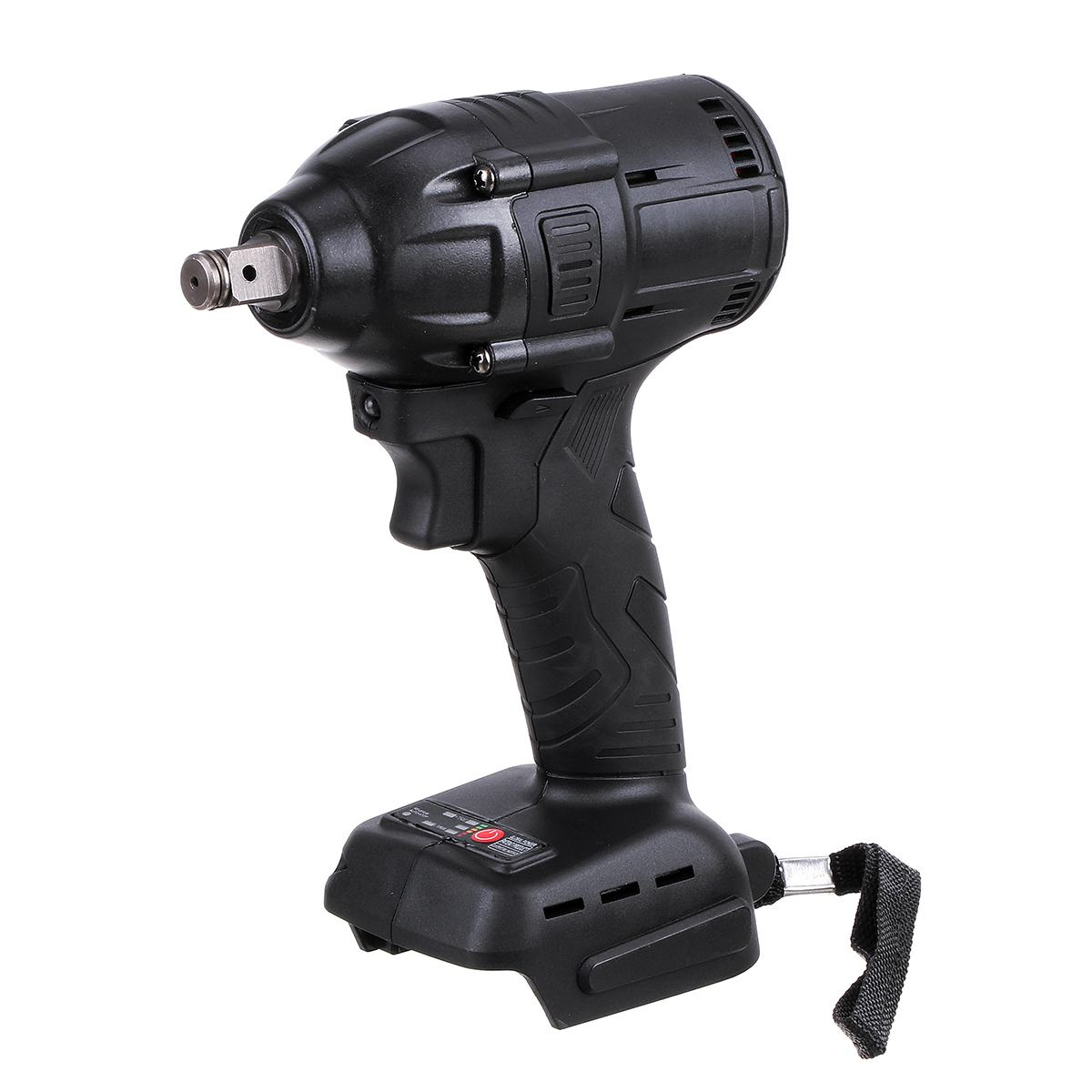 Tools : Doersupp 18V 500W 630N m  Li-Ion Cordless Impact Wrench Driver 1 2 Electric Wrench Replacement for Makita 18V Battery