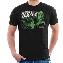 Hammer The Plague of The Zombies Poster Men's T-Shirt the zombies the zombies odessey